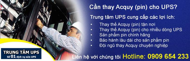 Thay pin cho UPS